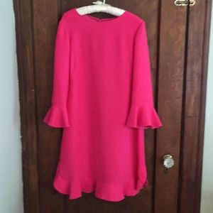 Kate Spade Hot Pink dress -12